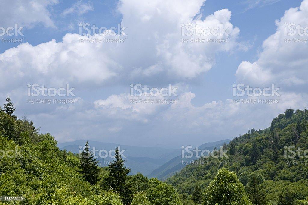 Great Smokey Mountains royalty-free stock photo