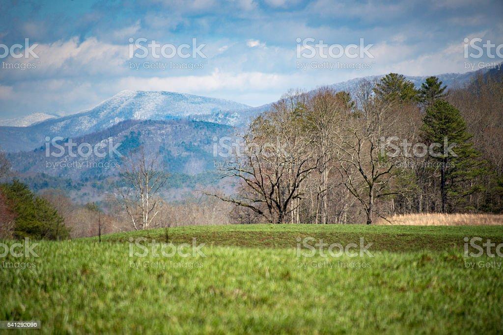 Great Smoky Mountain National Park stock photo