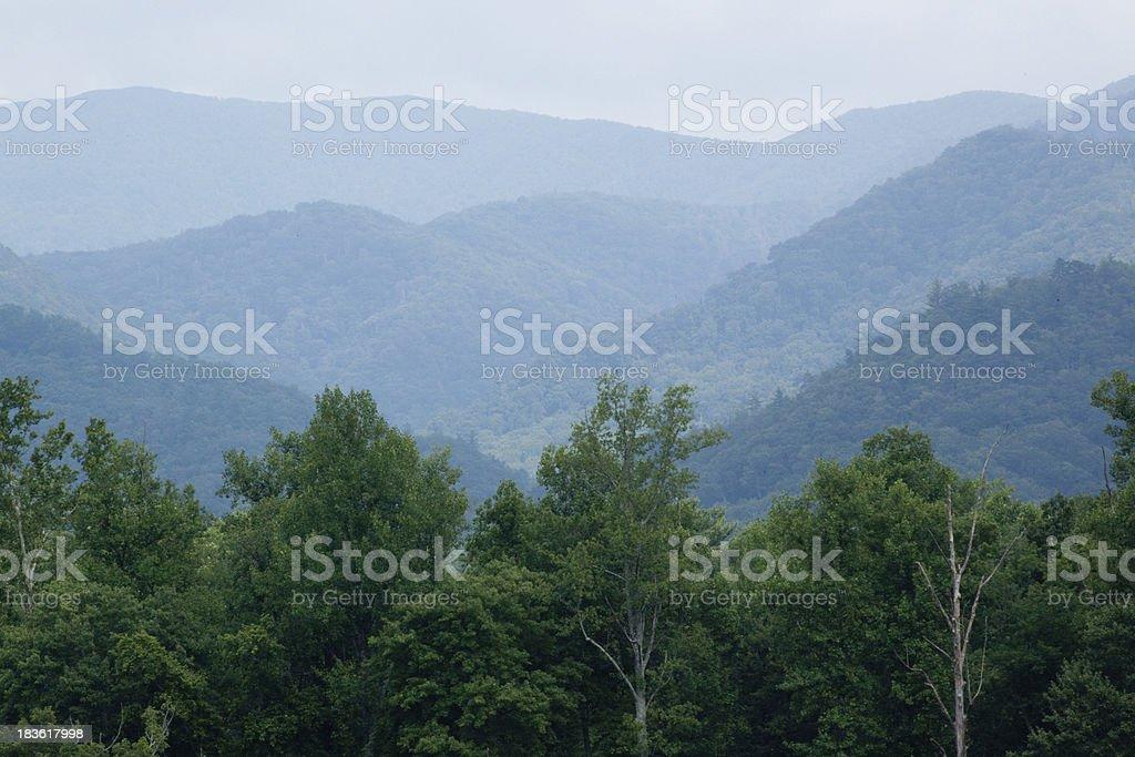 Great Smoky Mountain Park royalty-free stock photo