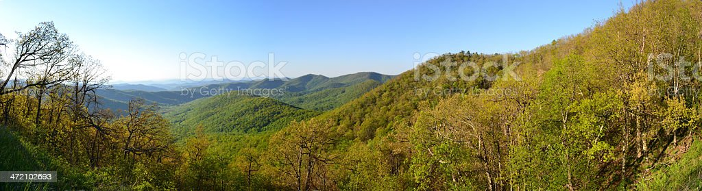 Great Smoky Mountains National Park, USA, in Spring stock photo