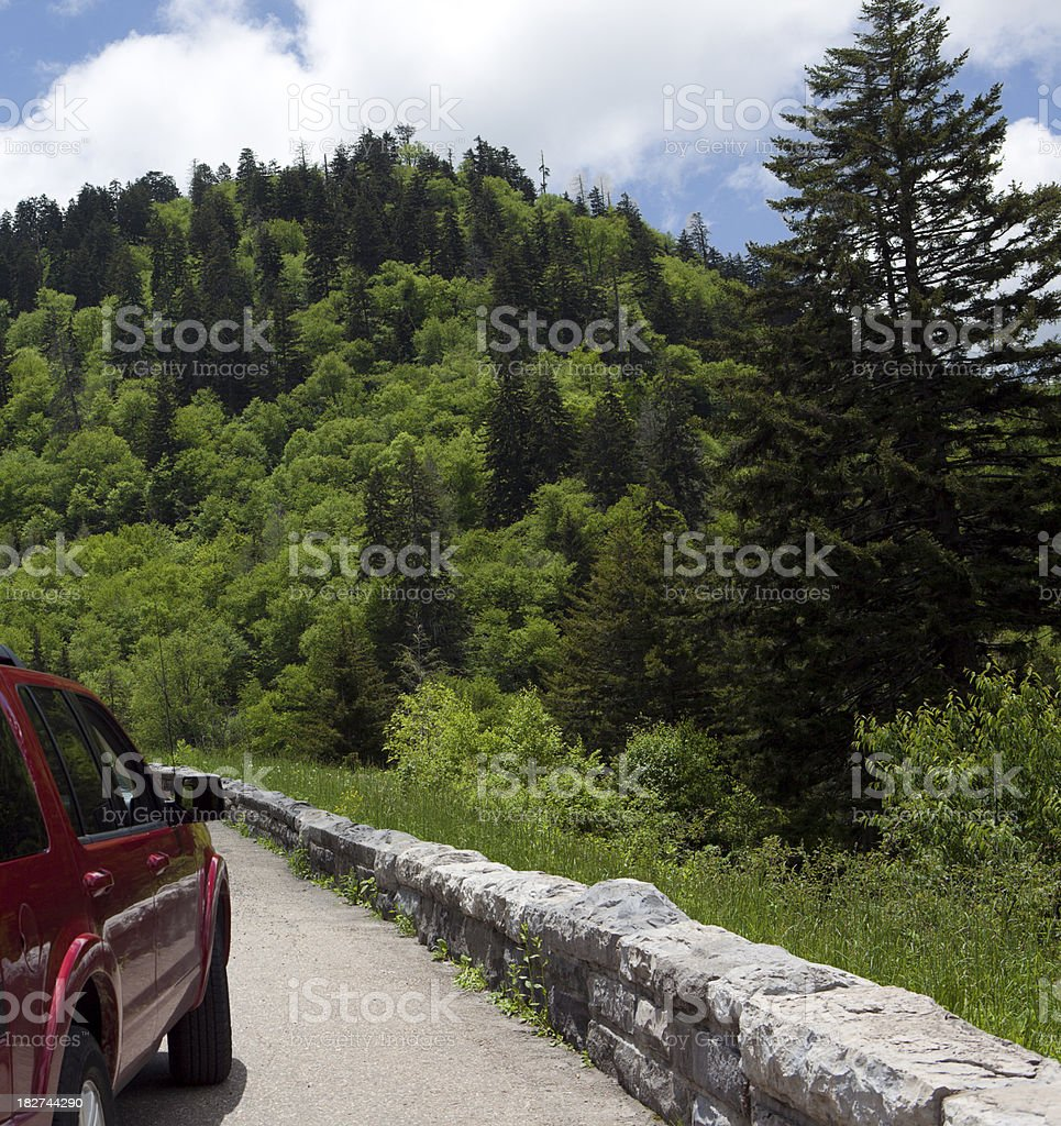 Great Smoky Mountains Road Trip royalty-free stock photo