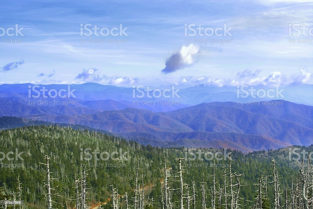 Great Smoky Mountains, USA royalty-free stock photo