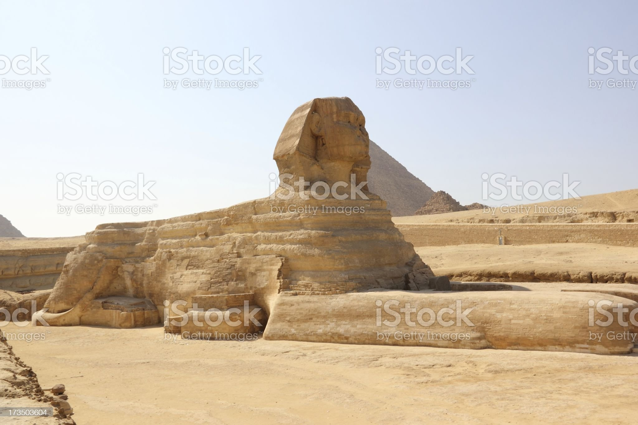 Great Sphinx of Giza, Cairo, Egypt. royalty-free stock photo