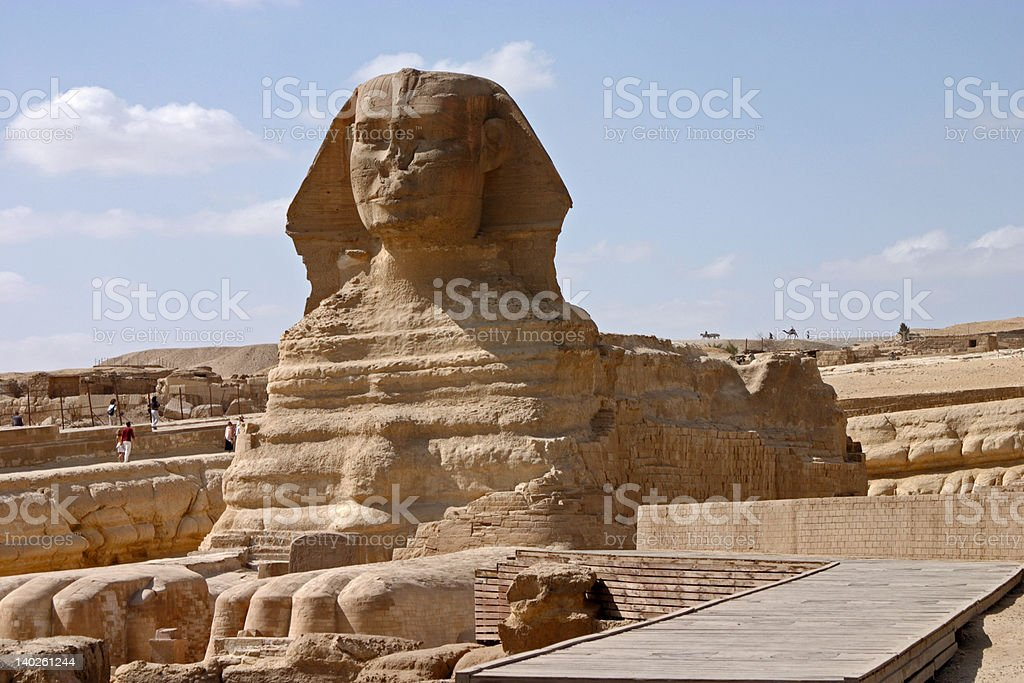 Great Sphinx royalty-free stock photo