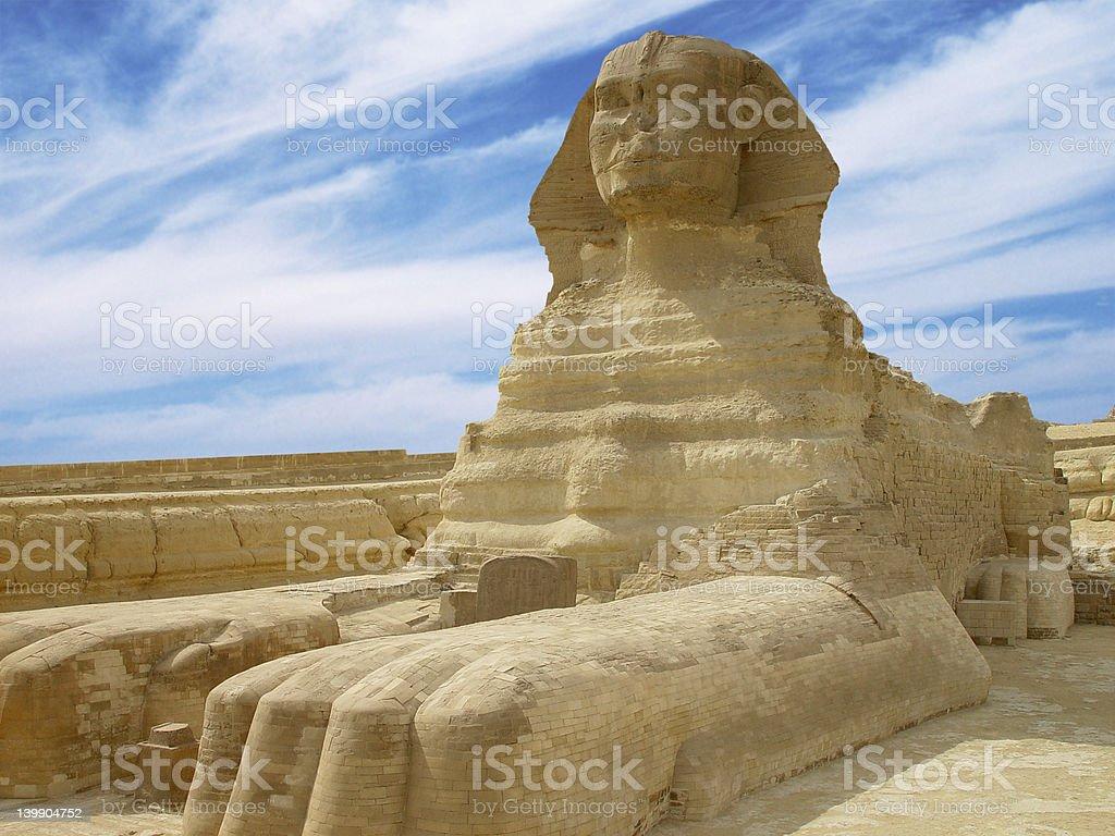 great sphinx2 stock photo