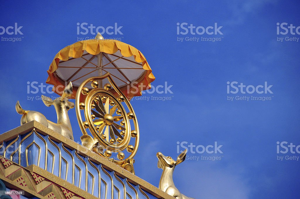Great Stupa of Dharmakaya, Colorado, USA stock photo