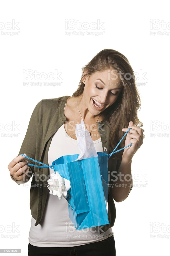 Great surprise! stock photo