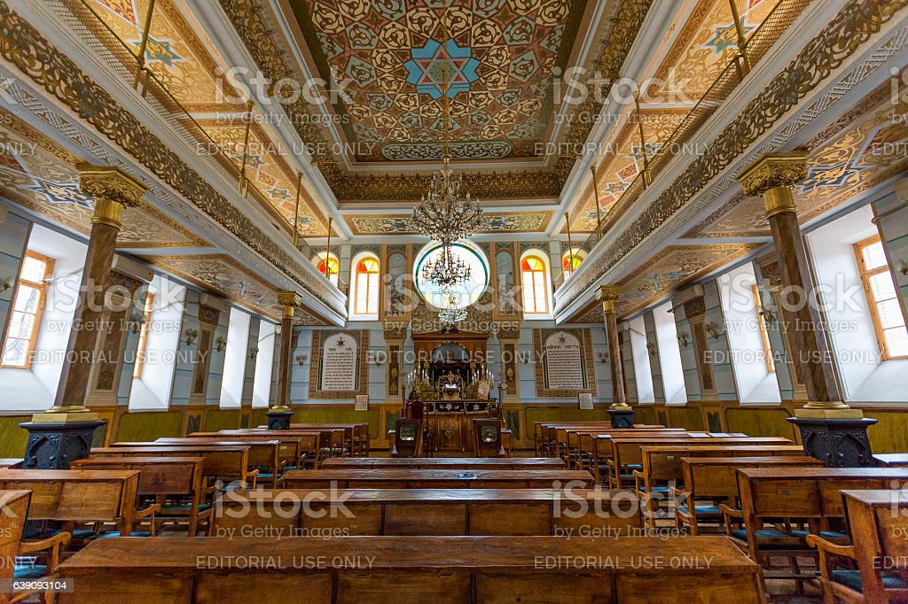 Great Synagogue in Tbilisi, Georgia stock photo