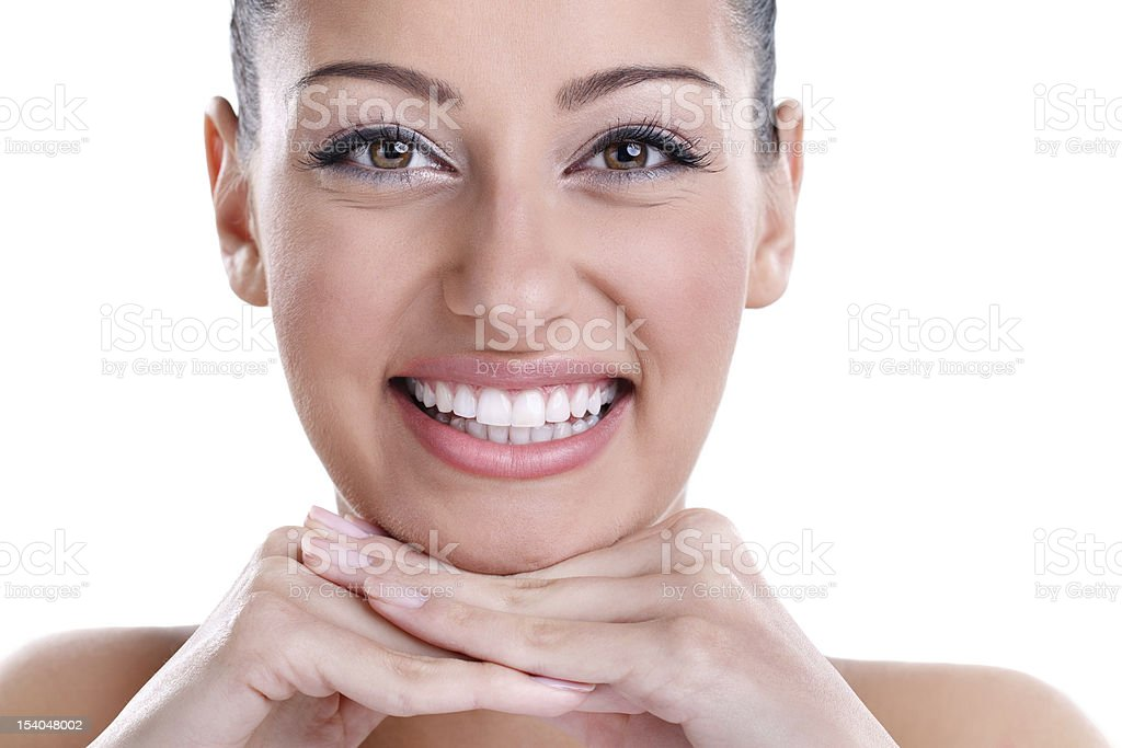 Great teeth royalty-free stock photo