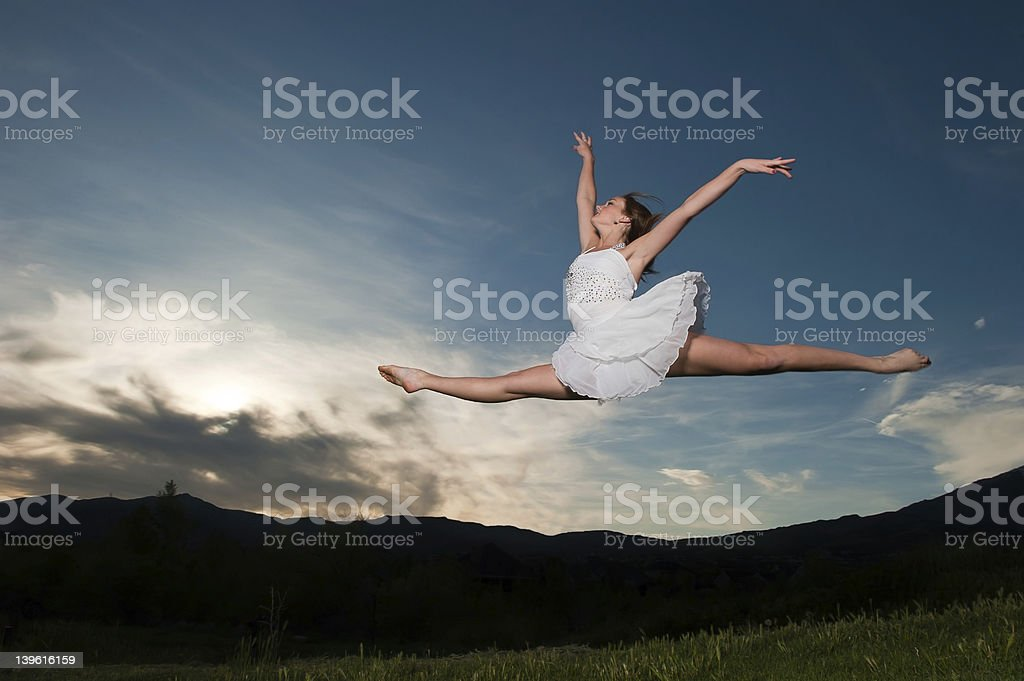 Grand jet? ballet royalty-free stock photo