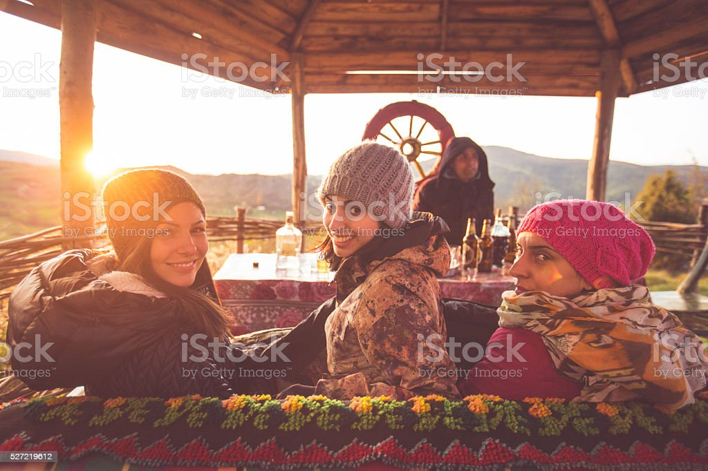 Great time in nature stock photo