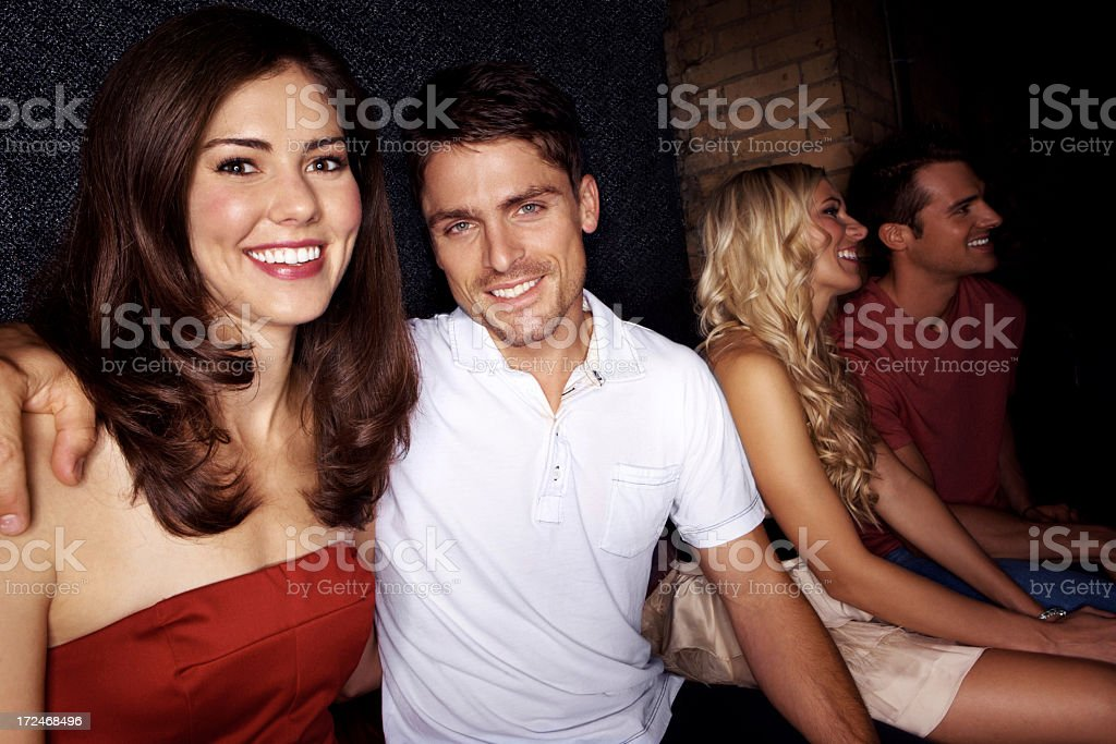 Great times with good friends royalty-free stock photo