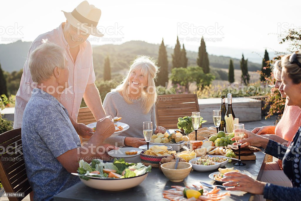 Great times with great friends stock photo