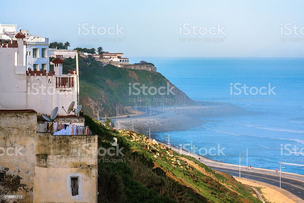 Great View from Tangier stock photo