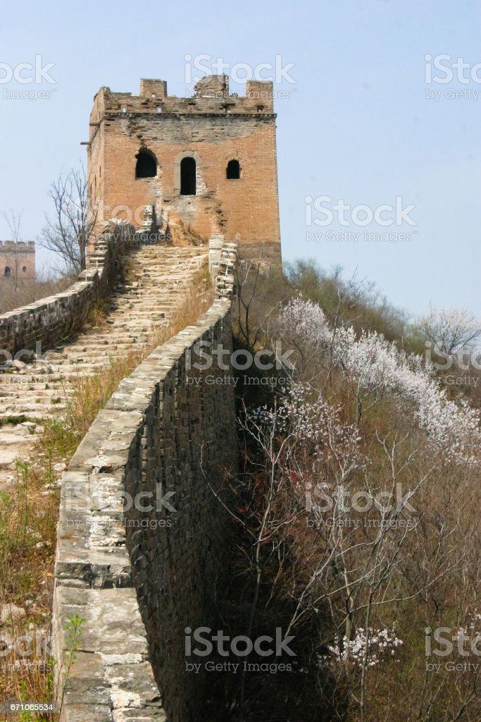 Great Wall China stock photo
