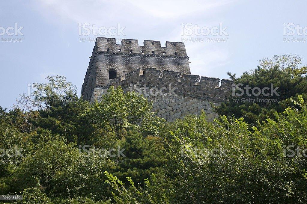 Great wall Mu tain Yu China royalty-free stock photo