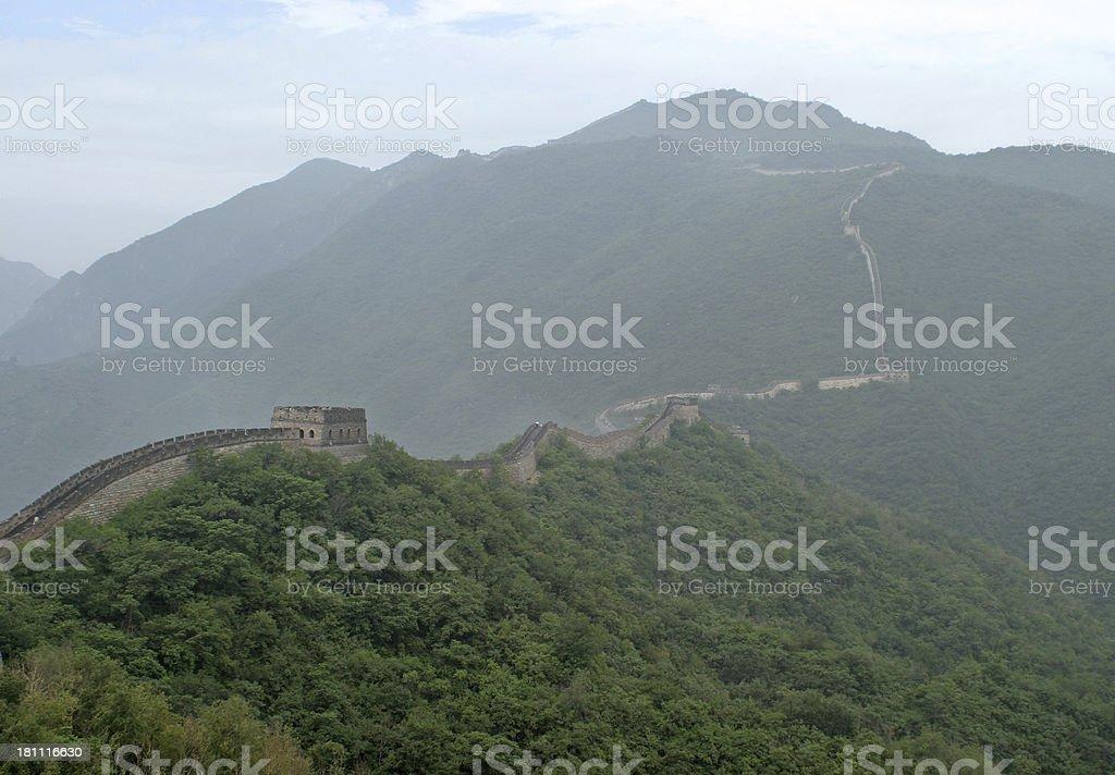 Great Wall of China 1 royalty-free stock photo