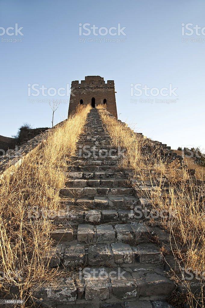 Great Wall of China at Simatai royalty-free stock photo