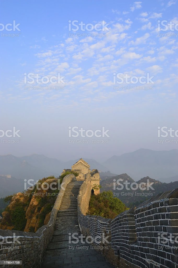 Great Wall of China royalty-free stock photo