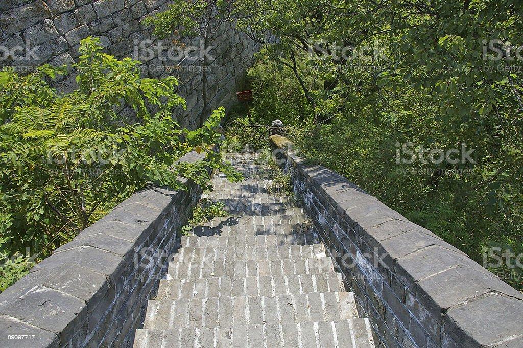 Great wall passage royalty-free stock photo