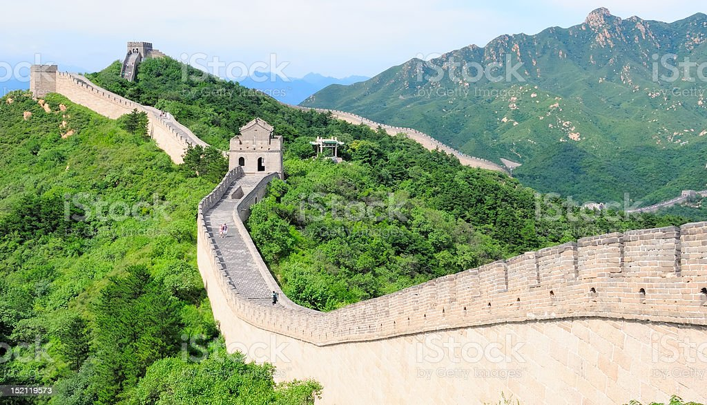 Great Wall royalty-free stock photo