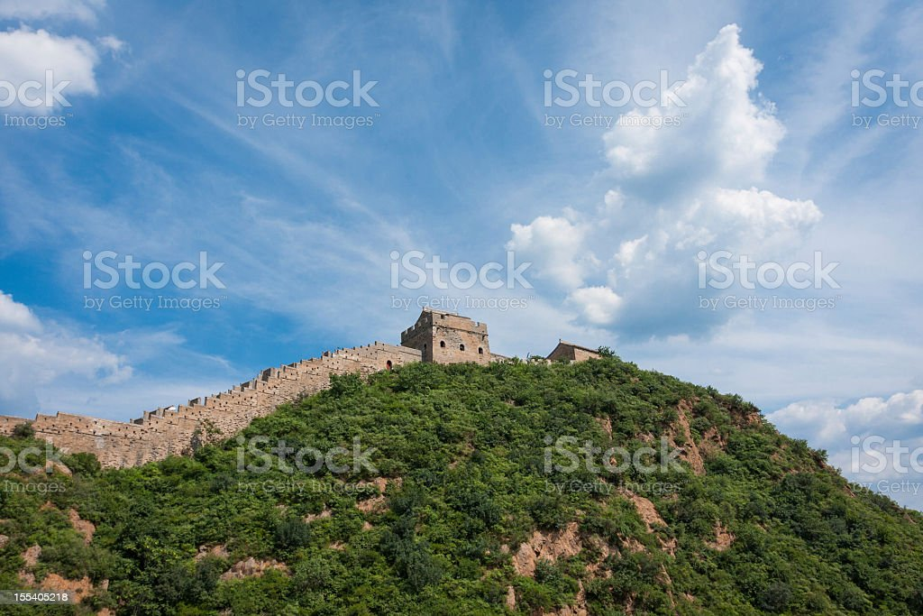 Great Wall royalty-free stock photo
