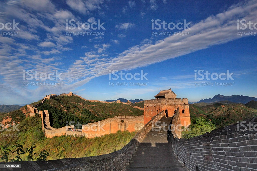 Great Wall stock photo
