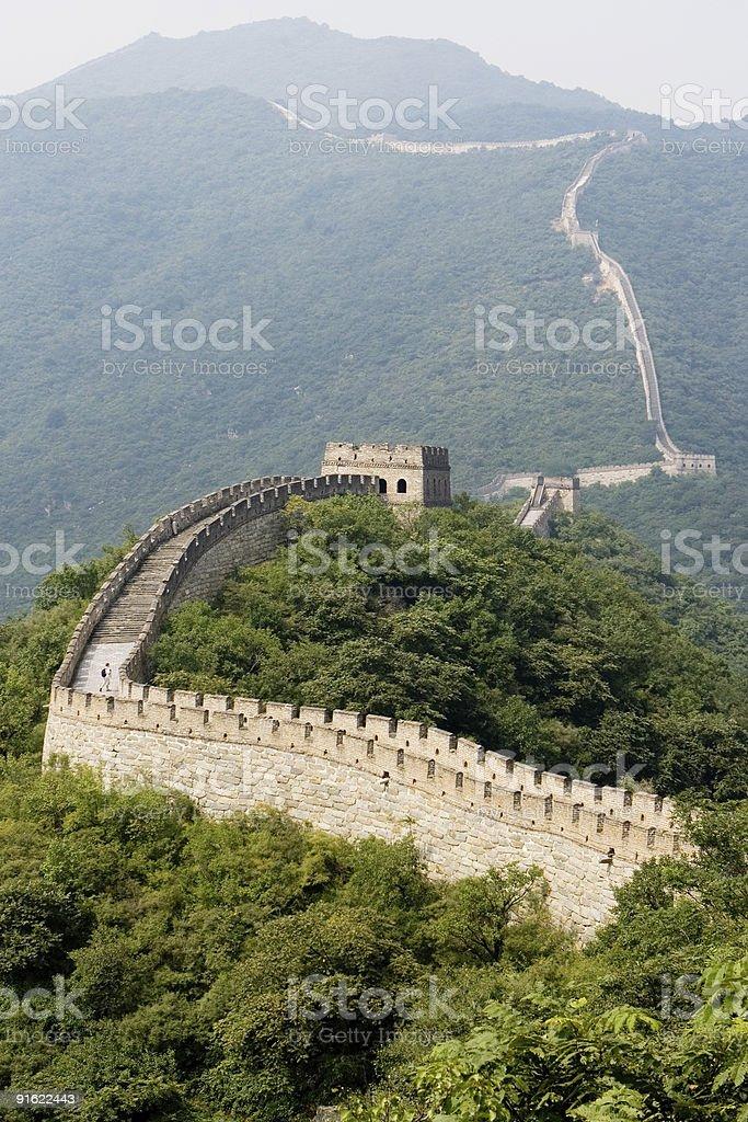 great Wall twenty royalty-free stock photo