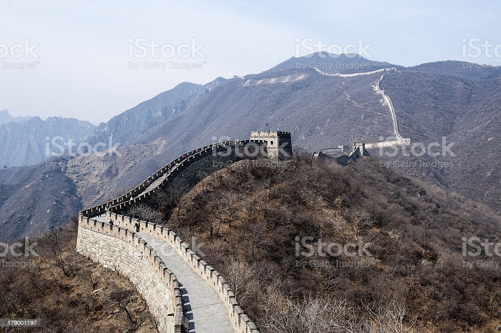 Great Wall,China royalty-free stock photo
