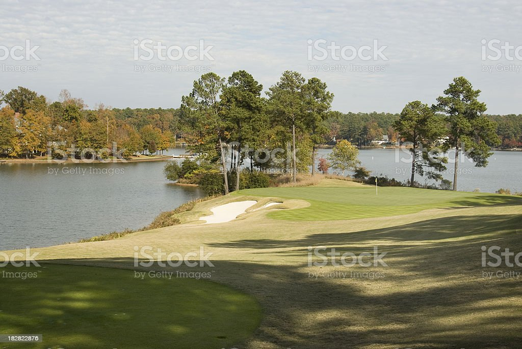 Great Waters Golf Course at Reynolds Plantation royalty-free stock photo