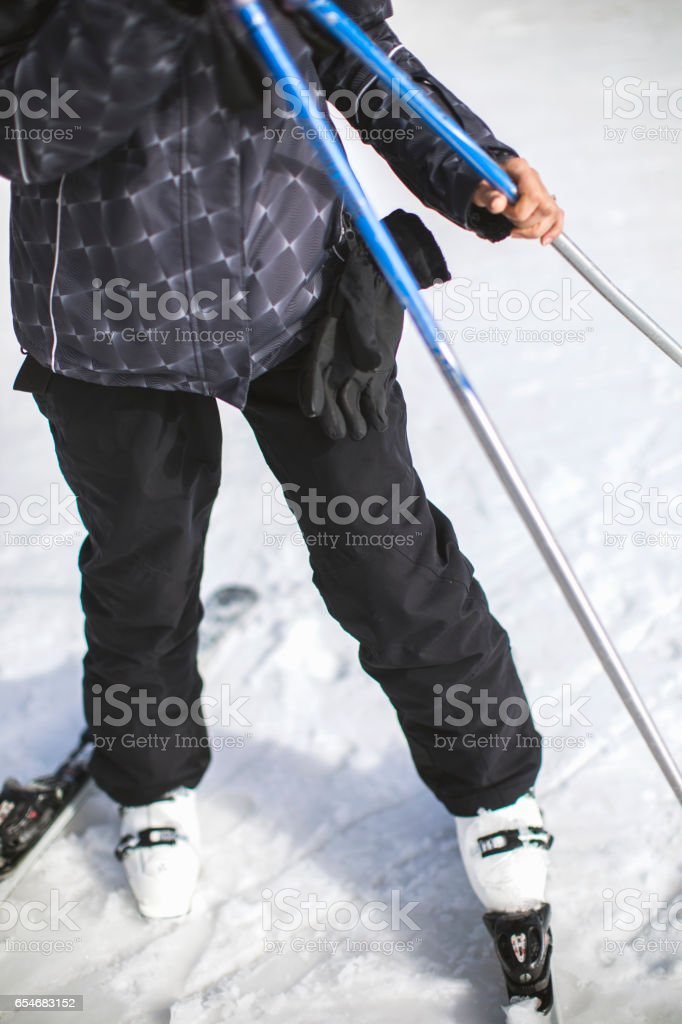 Great winter sports stock photo