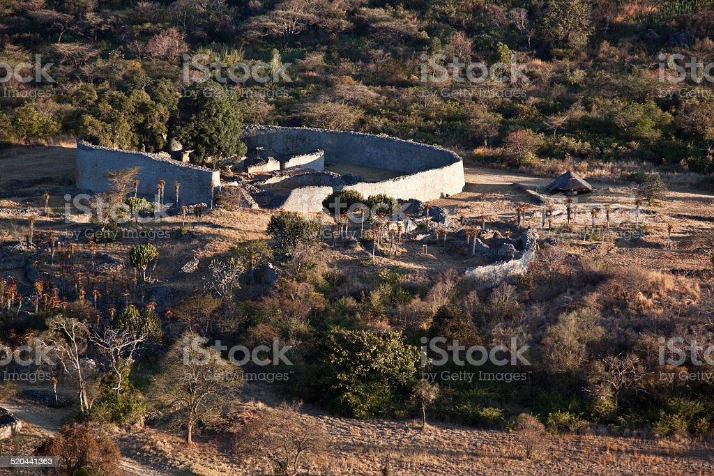 Great Zimbabwe view stock photo