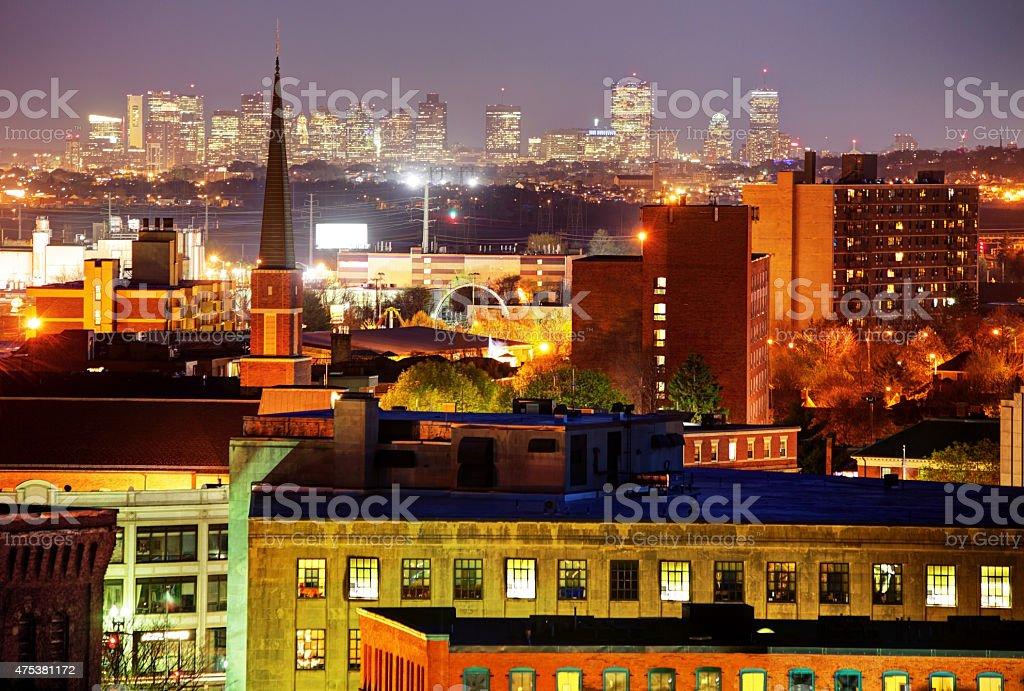 Greater Boston Massachusetts stock photo