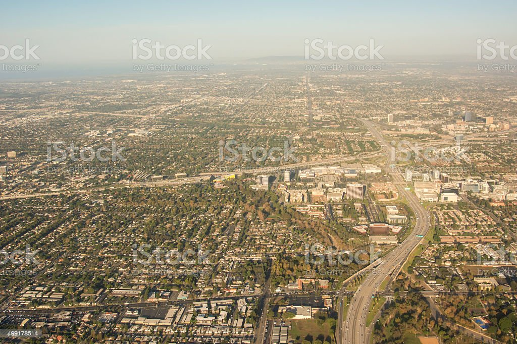 Greater Los Angeles Area stock photo