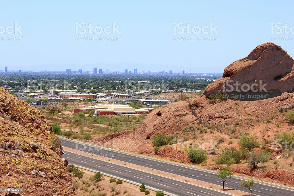 Greater Phoenix, AZ stock photo