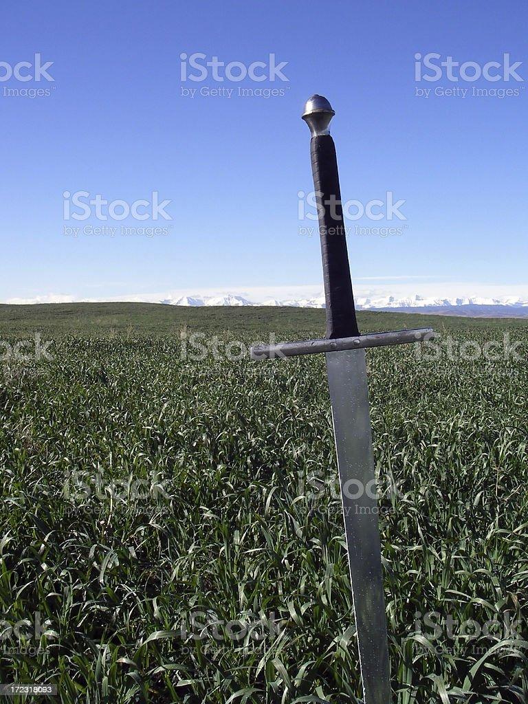 Greatsword stock photo