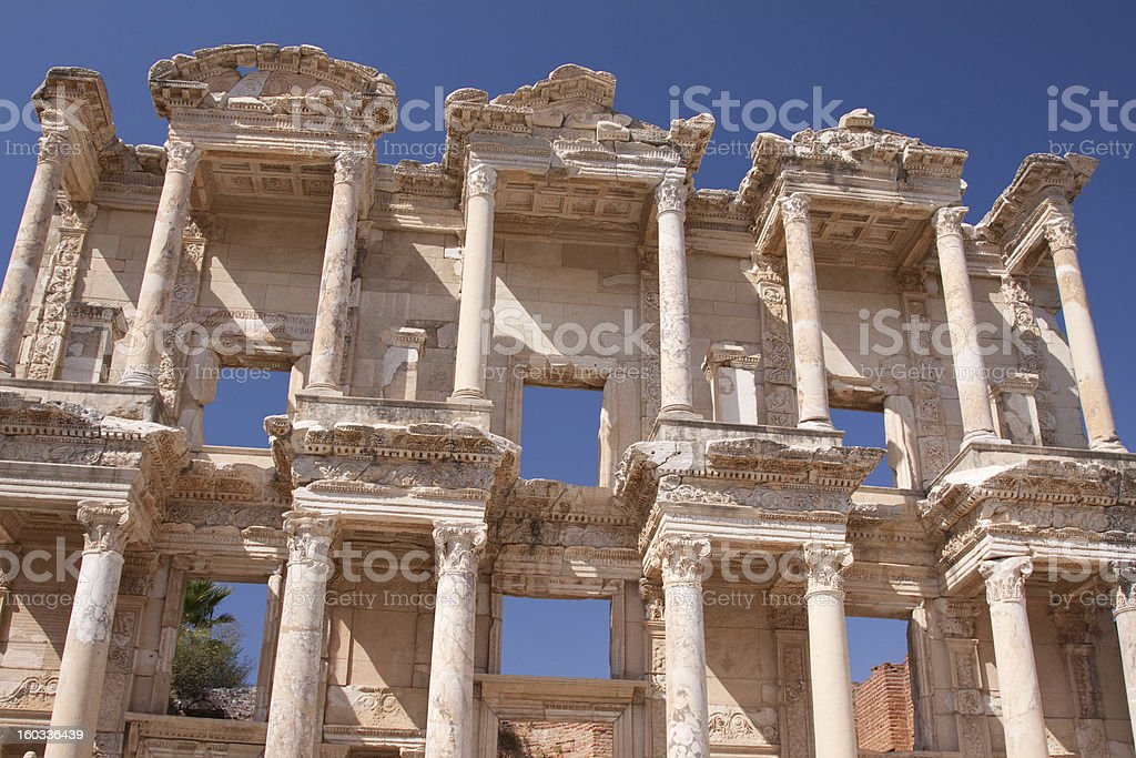 Greco-Roman Ruins royalty-free stock photo
