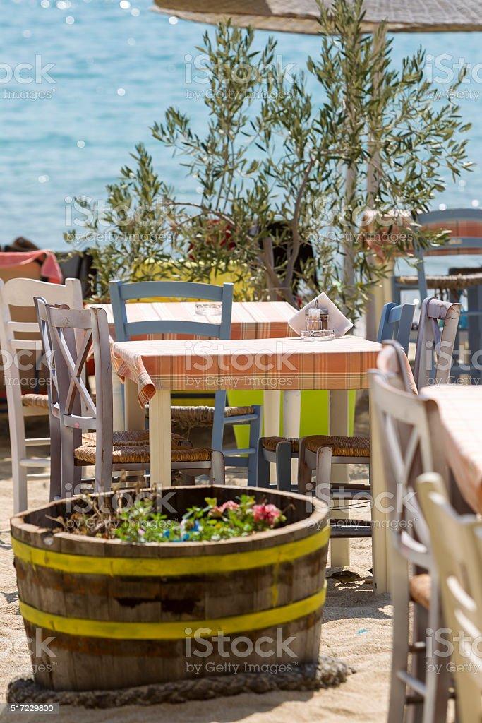Greece Chalkidiki Sithonia Taven stock photo