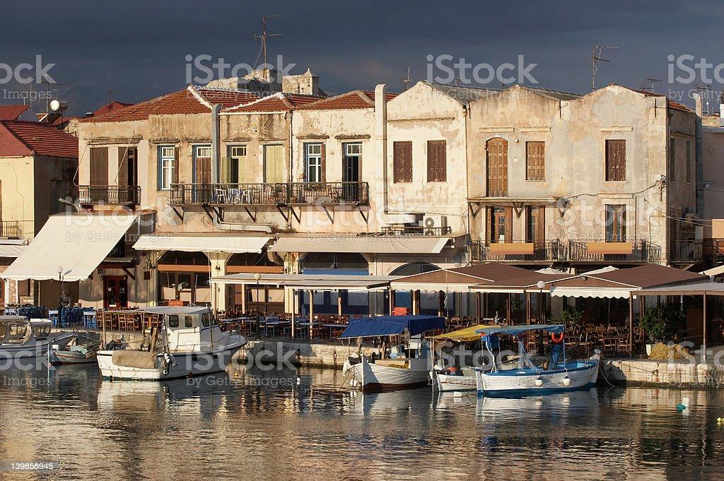 Greece, Crete, Rethimno royalty-free stock photo