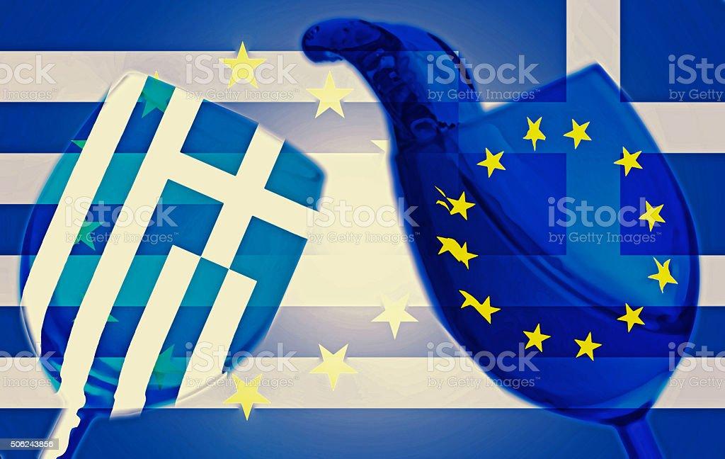 Greece Euro stock photo