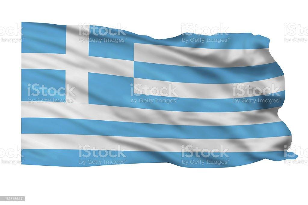 Greece Flag. stock photo