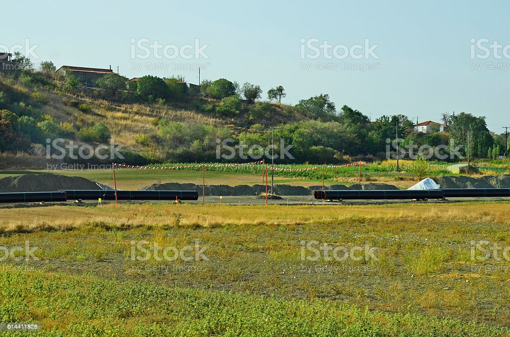 Greece, Industry stock photo
