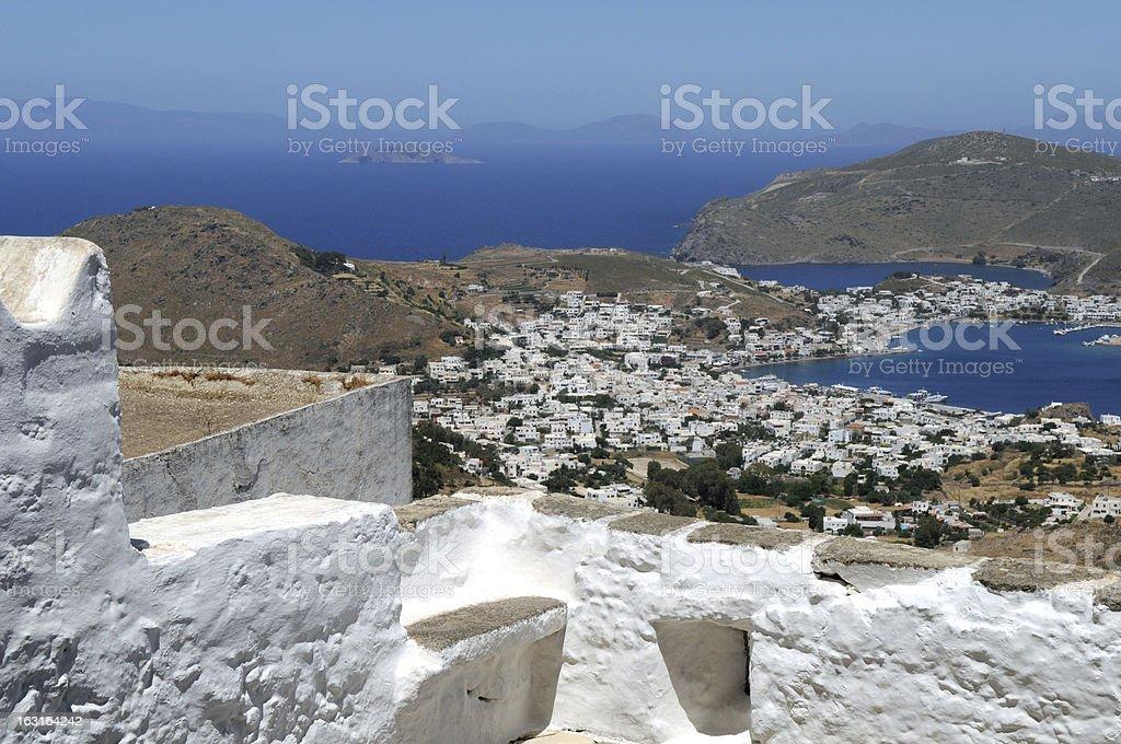 Greece - island Patmos royalty-free stock photo
