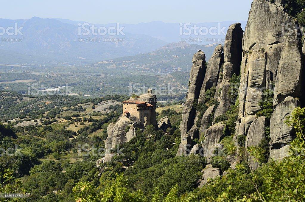 Greece, Meteora royalty-free stock photo