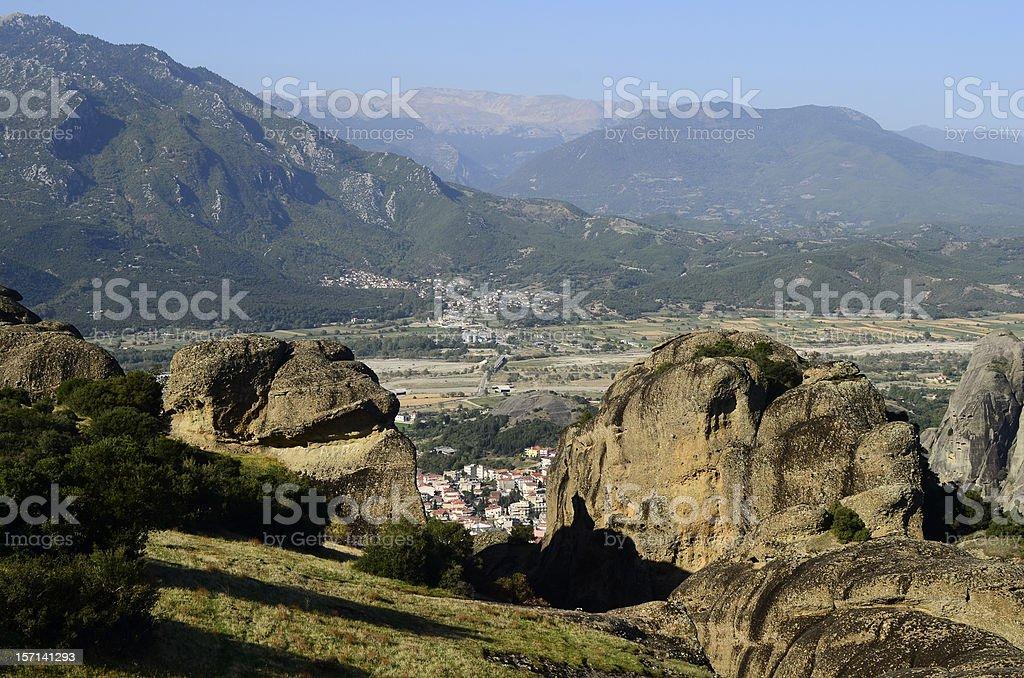 Greece, Meteora stock photo