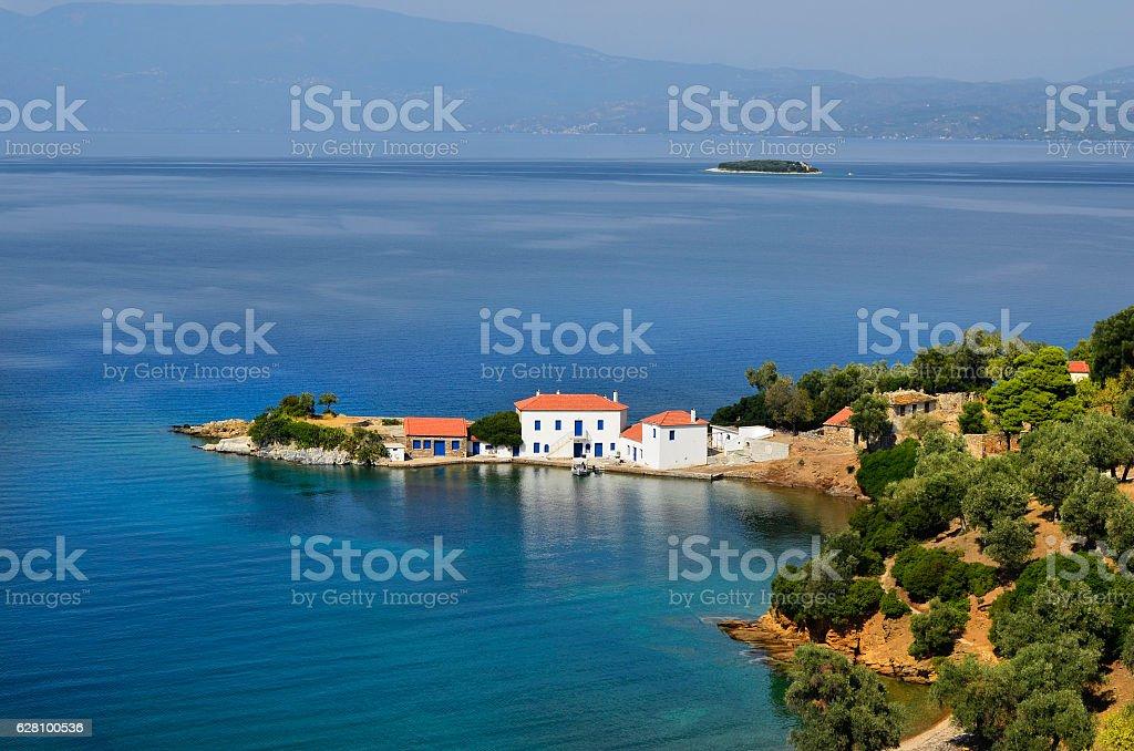 Greece, Pelion Peninsula stock photo