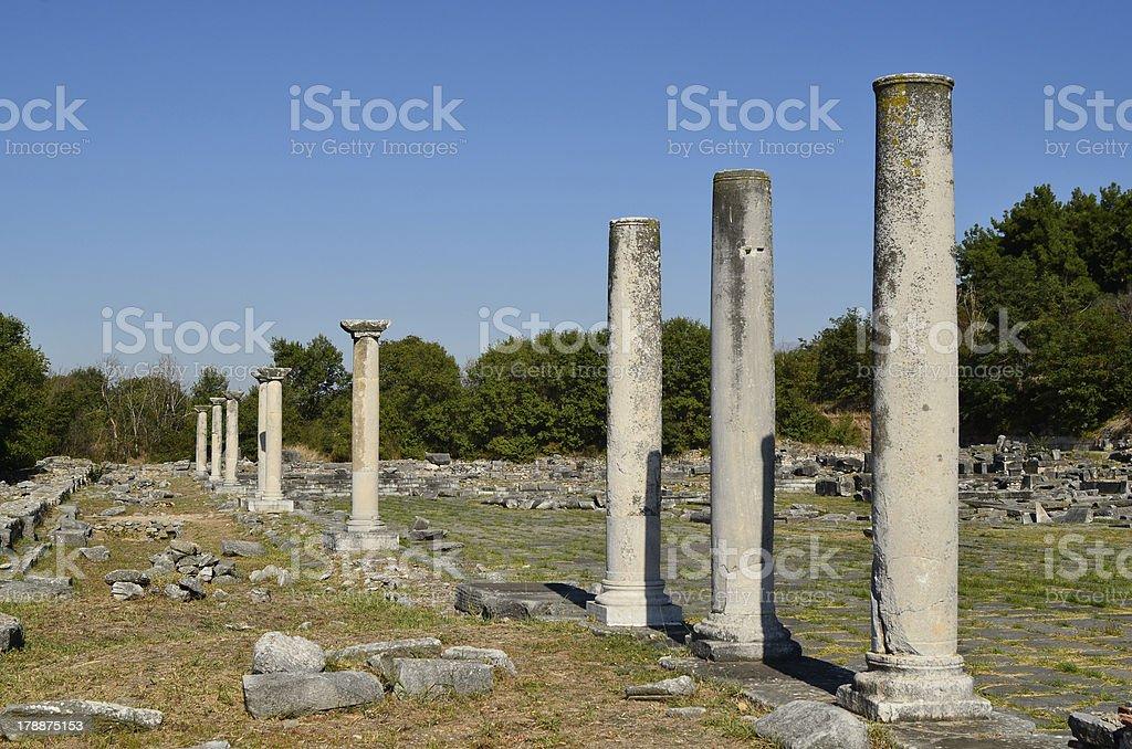 Greece, Philippi royalty-free stock photo