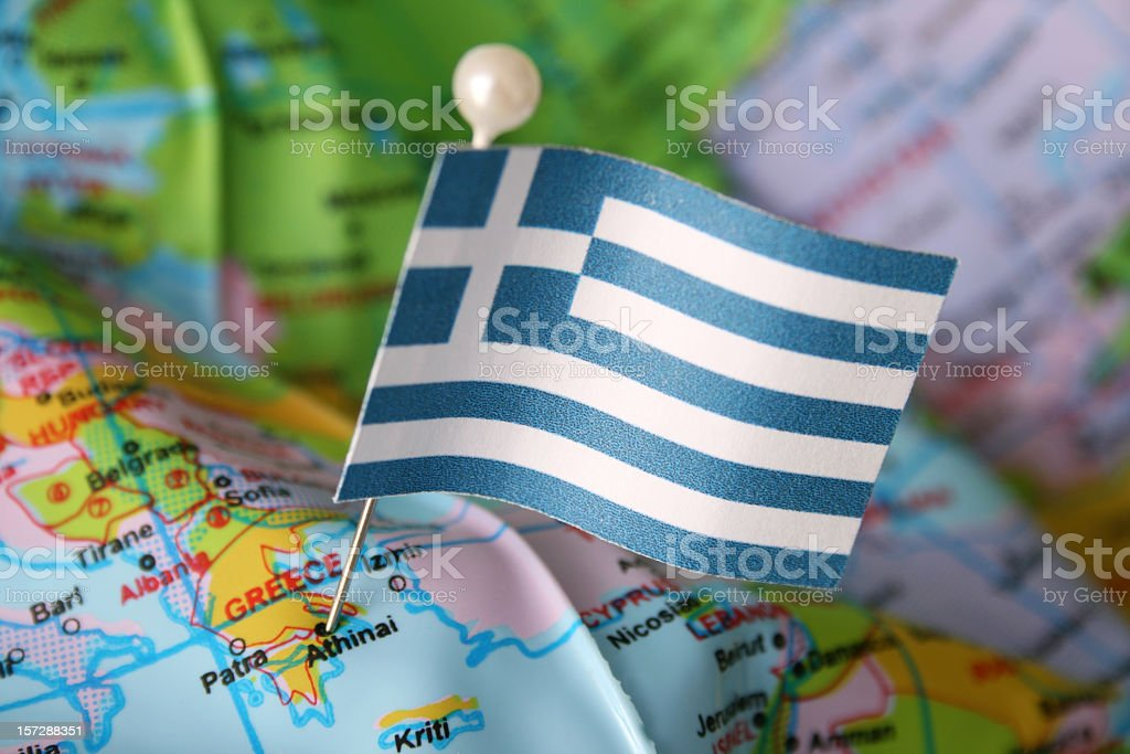 Greece royalty-free stock photo