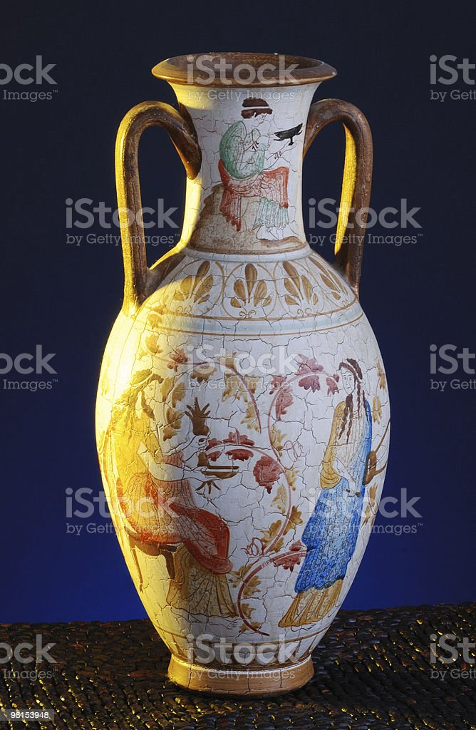 Greece Pottery stock photo