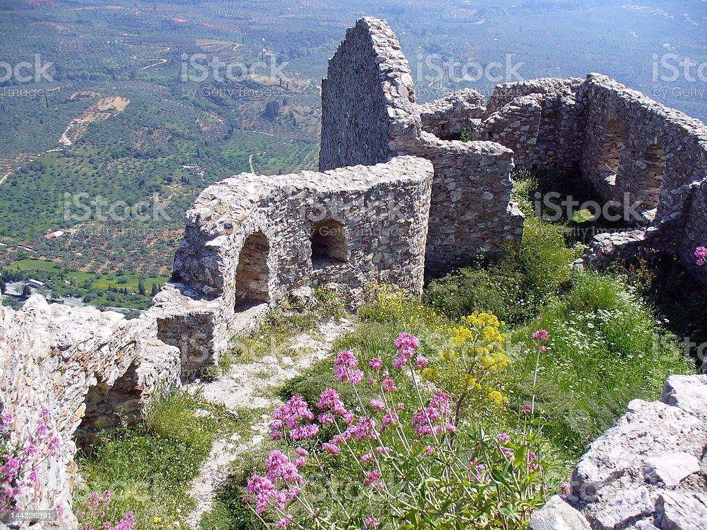 Greece Ruins royalty-free stock photo